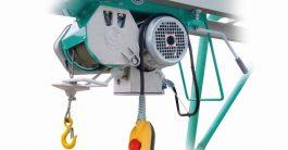 Treuil de chantier monophasé pour chevalet 500 kg